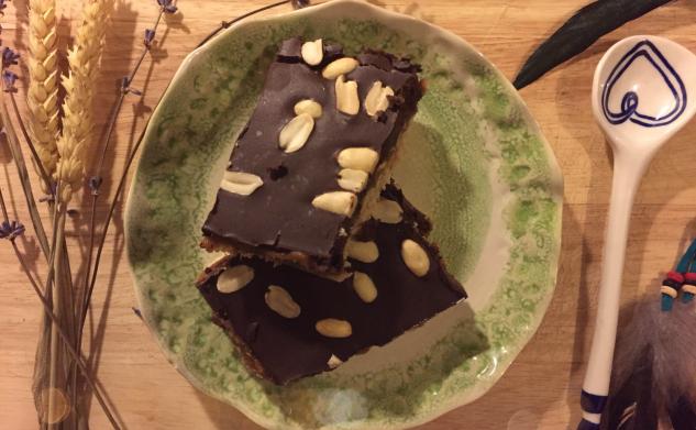 Oh Taste & See | Vegan Snickers